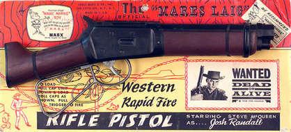 Steve Mcqueen S Mares Laig Rifle Toy
