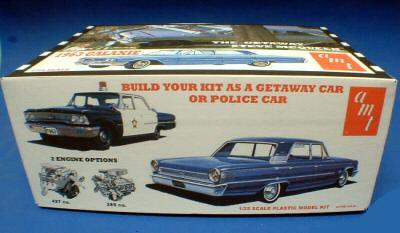 This is the box artwork from the amt 1 25 scale model release of
