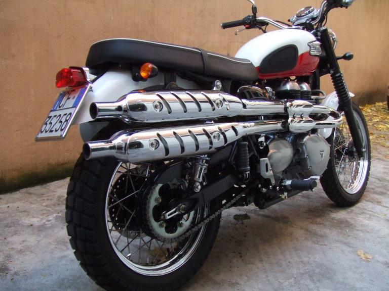 2006 Triumph Bonneville Scrambler