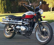 The 2006 Triumph Bonneville Scrambler
