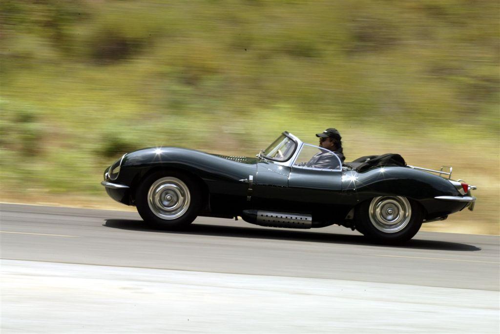 Steve McQueen's Jaguar XK-SS.