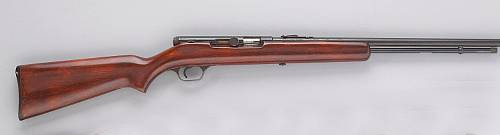 A J. Stevens Springfield Model 87A semi-automatic rifle