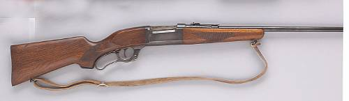 A Savage Model 99F Featherweight lever action sporting rifle