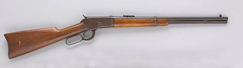 A Winchester Model 1892 saddle ring carbine