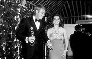 Steve and Natalie Wood at the Golden Globe Awards