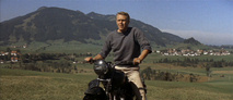 scene from 'The Great Escape' DVD