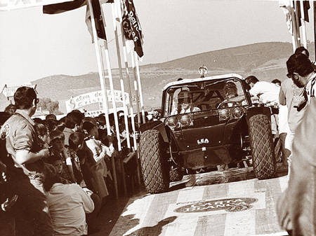 McQueen in the Baja Boot - 1968