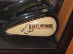 Harley Gas Tank - Signed by Ann-Margret