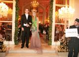 Molly accompanied by Greg Young at the 'Le Bal Crillon des Debutantes' 2005