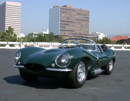 Steve's Jaguar XKSS Photo courtesy of Petersen Automotive Museum