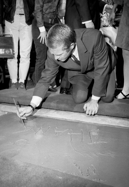 Steve at Grauman's Chinese Theater